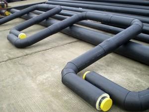 изолирани тръби за пренос на минерална вода